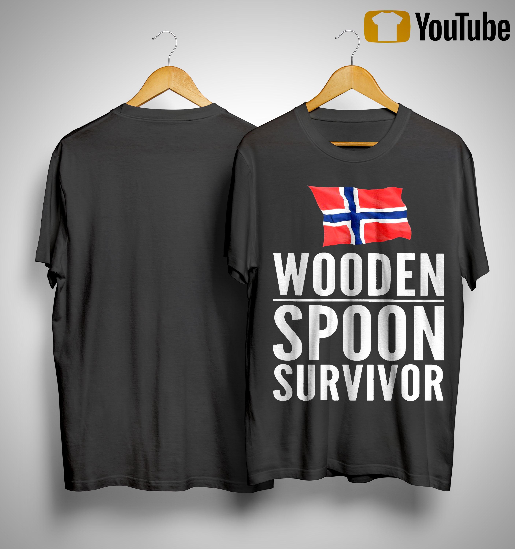 Norway Wooden Spoon Survivor Shirt