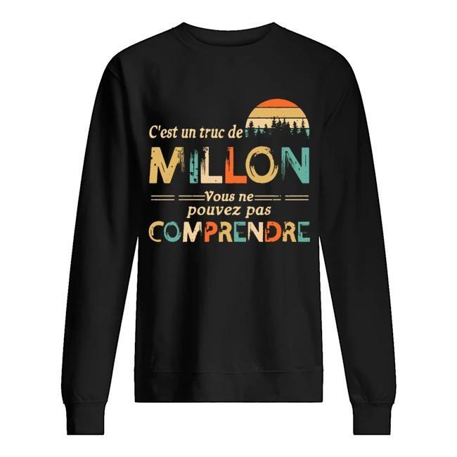 Vintage C'est Un Truc De Millon Vous Ne Pouvez Pas Comprendre Sweater