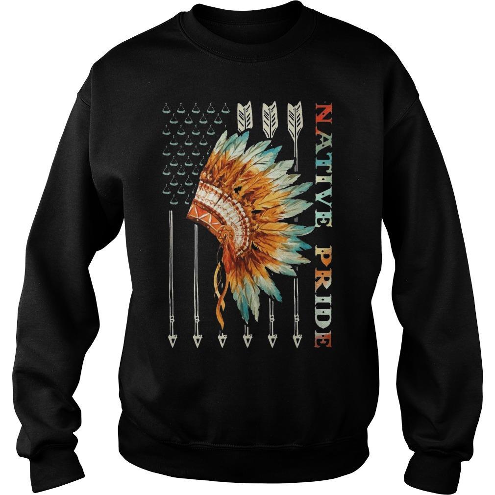 American Flag Native Pride Sweater