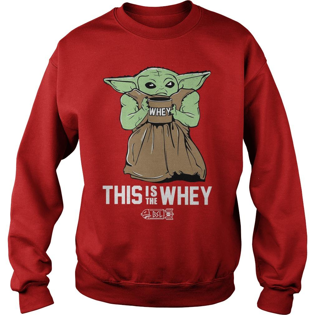 Baby Growda This Is The Whey Sweater
