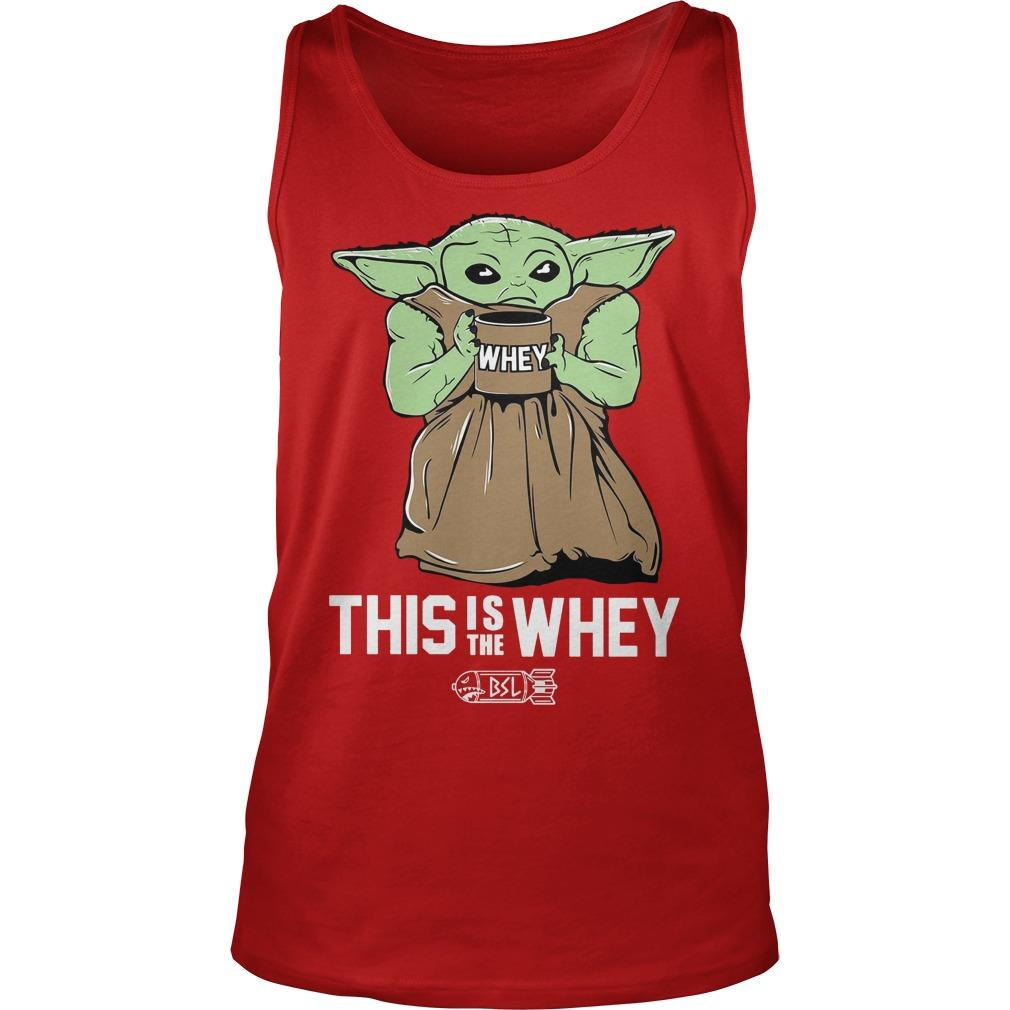 Baby Growda This Is The Whey Tank Top