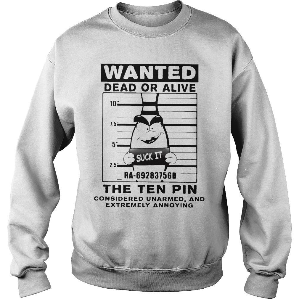 Bowling Wanted Dead Or Alive The Tenpin Considered Unarmed Sweater