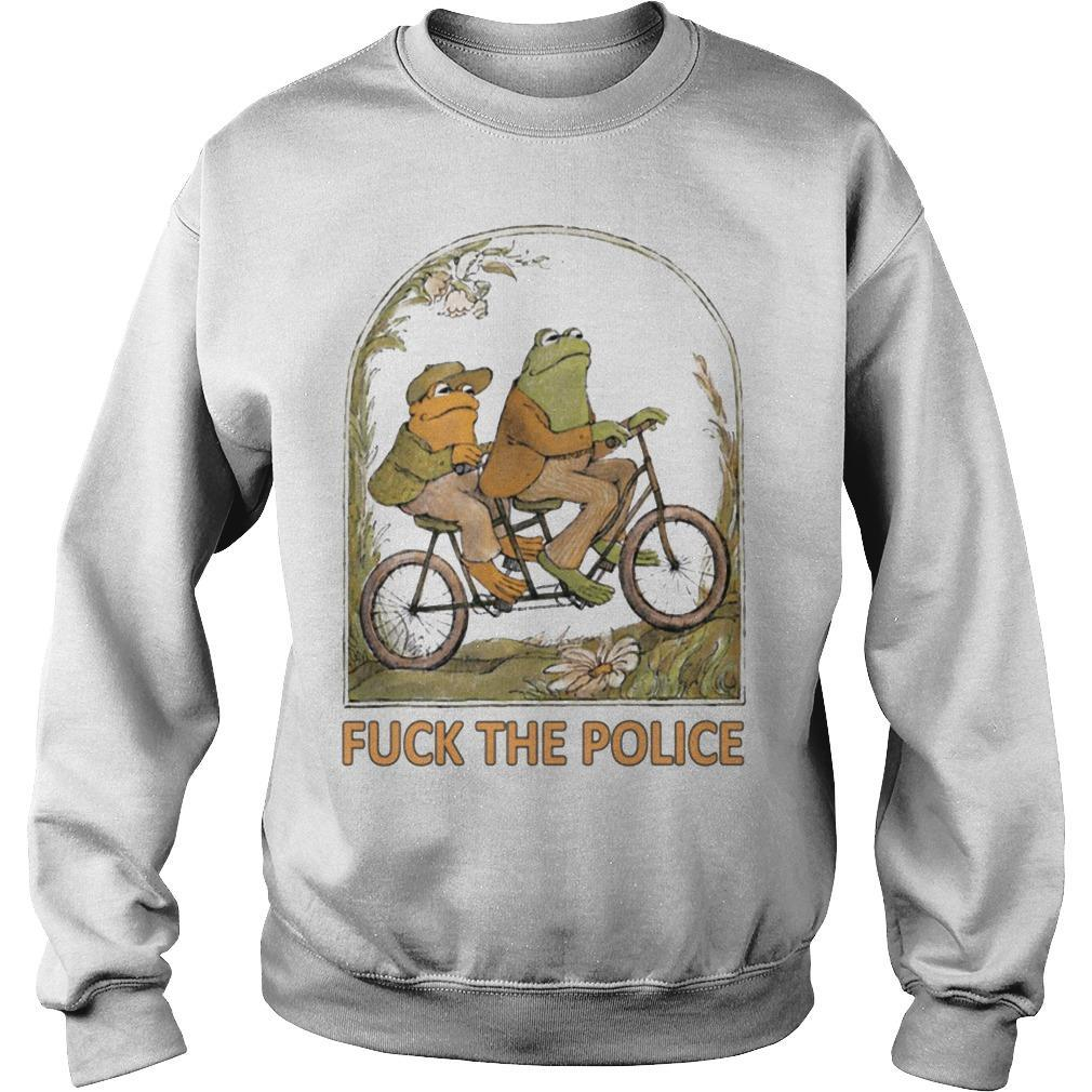 Frog And Toad Fuck The Police Sweater