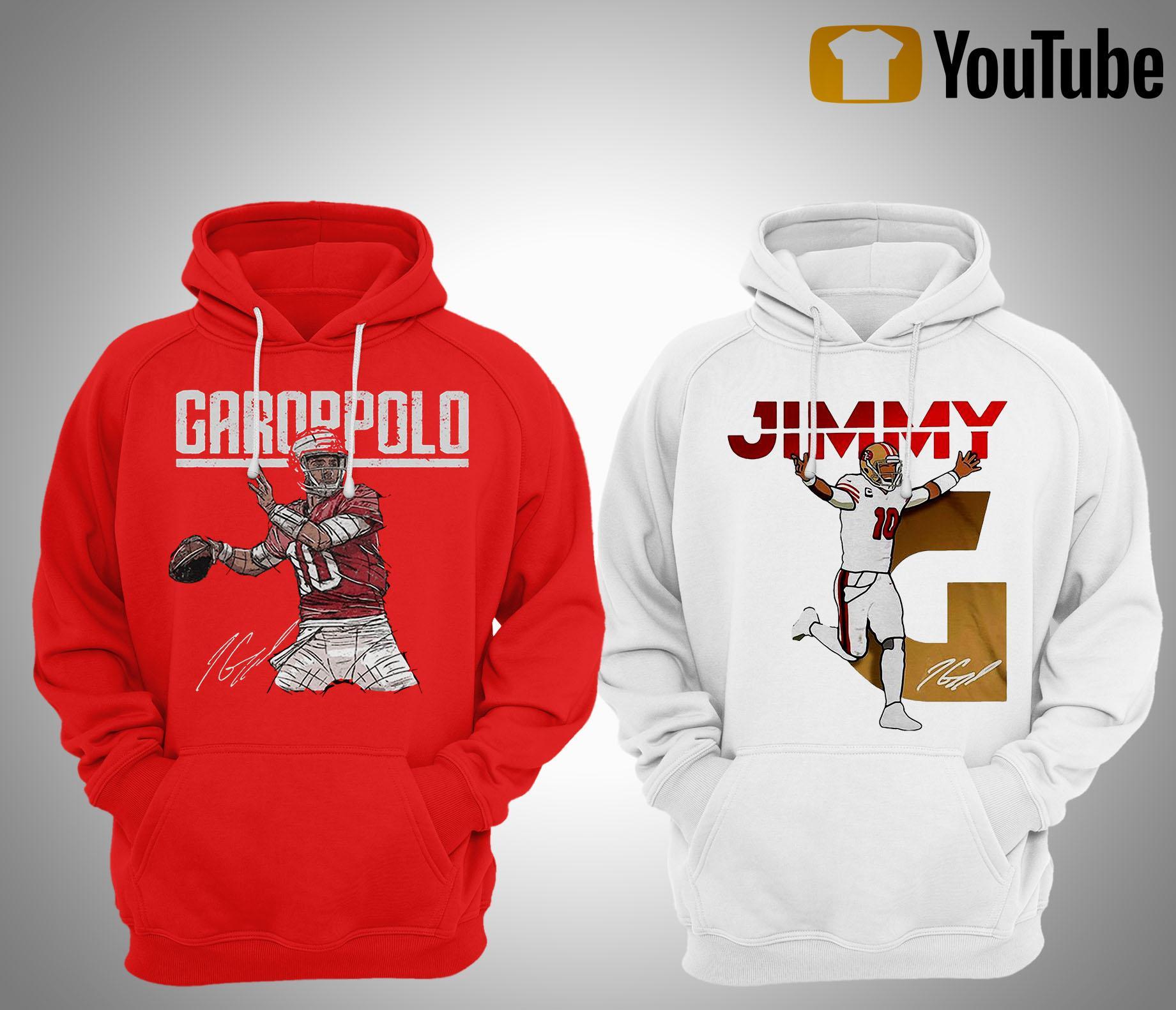 Jimmy Garoppolo Signature T Hoodie