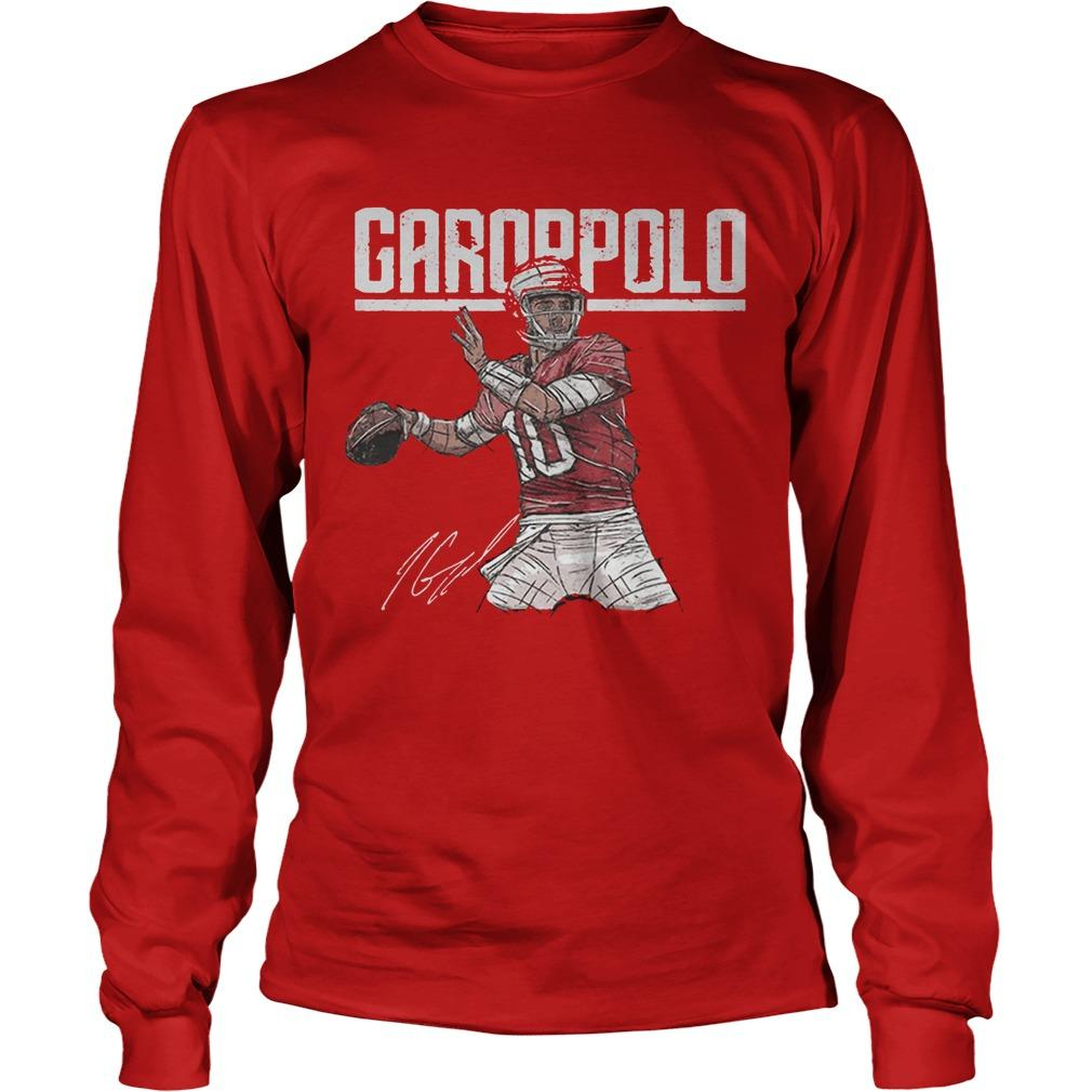 Jimmy Garoppolo Signature T Longsleeve