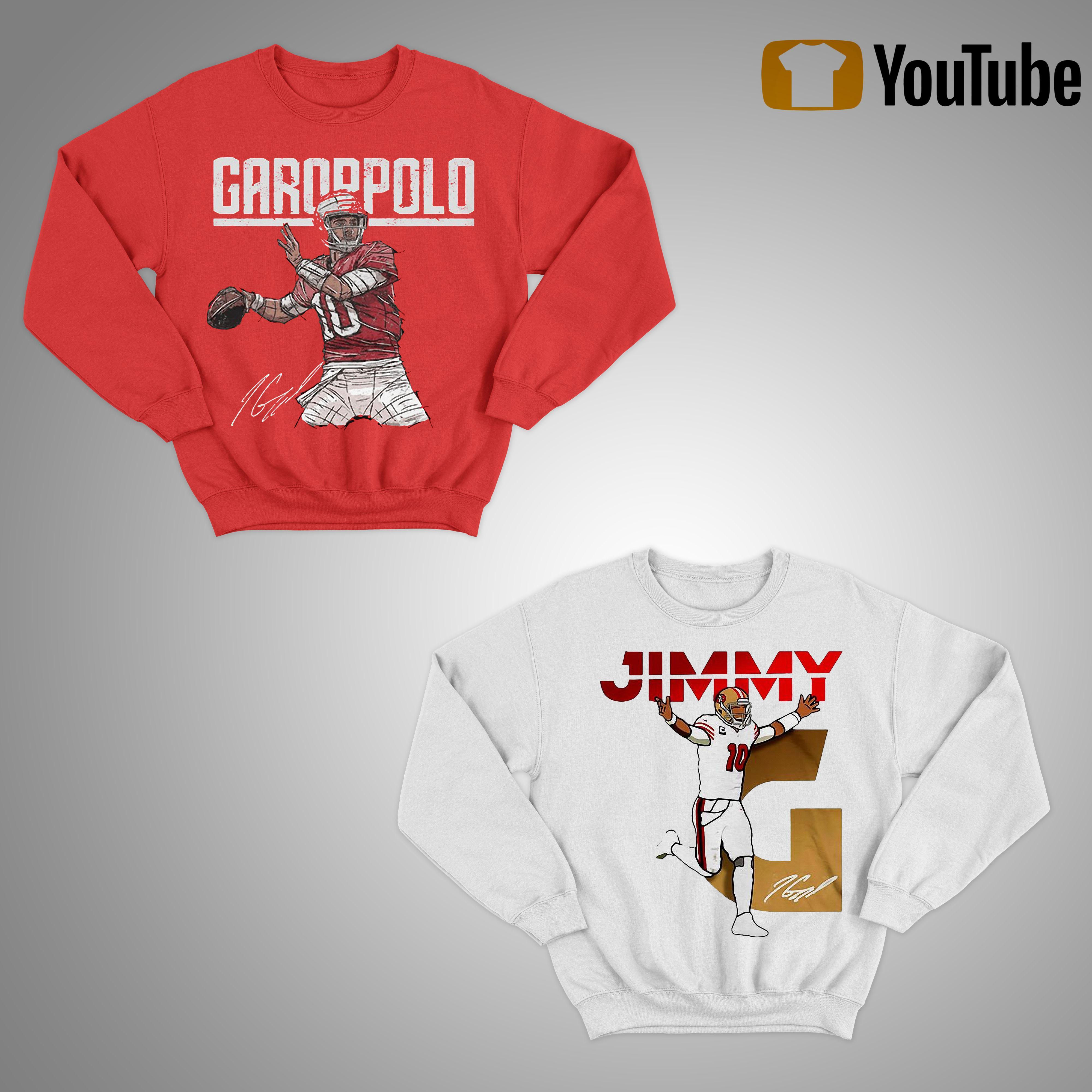 Jimmy Garoppolo Signature T Sweater