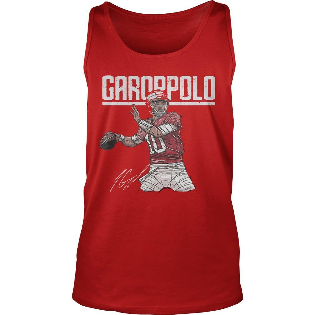 Jimmy Garoppolo Signature T Tank Top