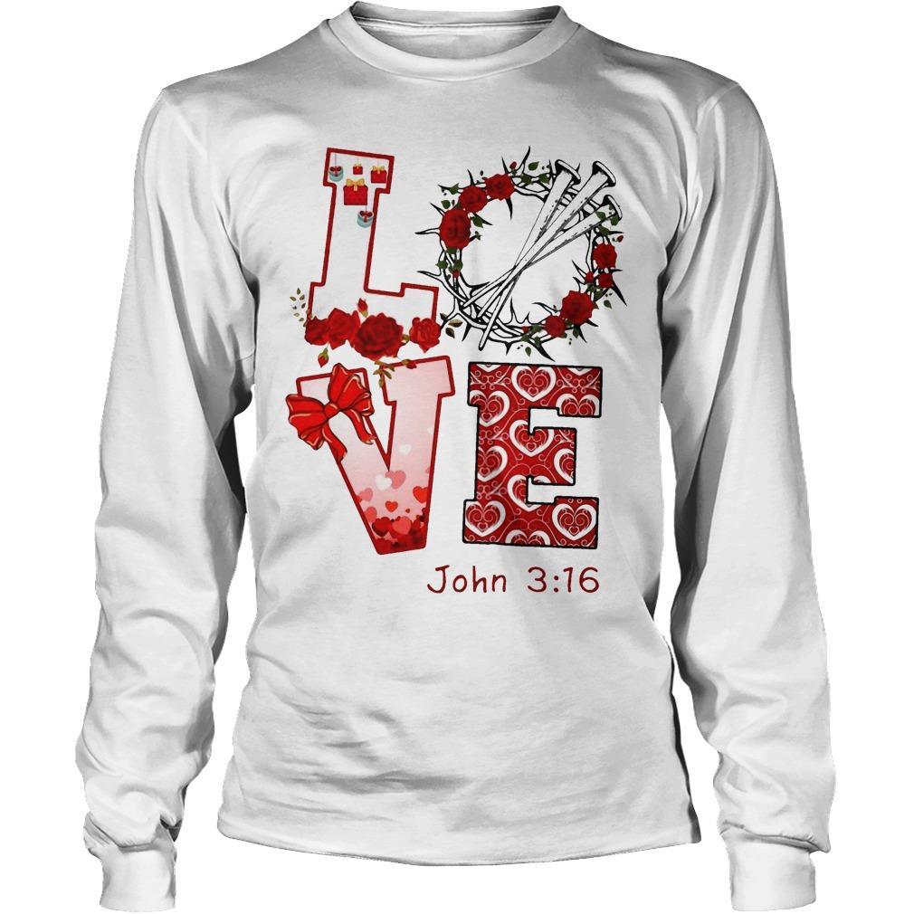 Love John 3 16 Longsleeve