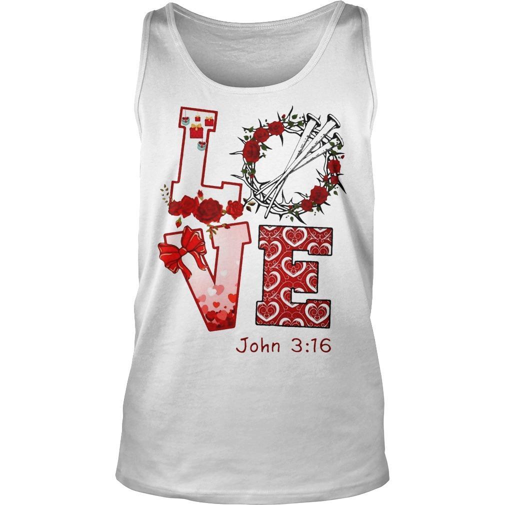 Love John 3 16 Tank Top