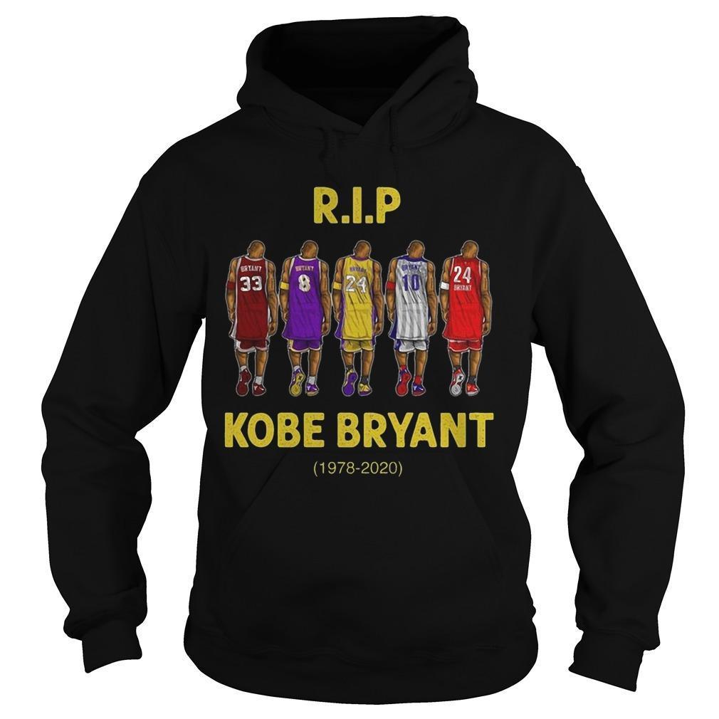 Rip Kobe Bryant 1978 2020 Hoodie