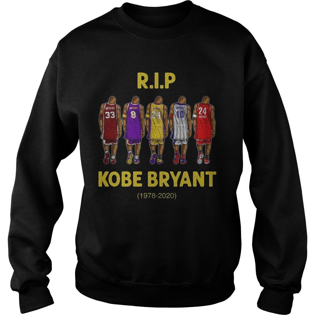 Rip Kobe Bryant 1978 2020 Sweater