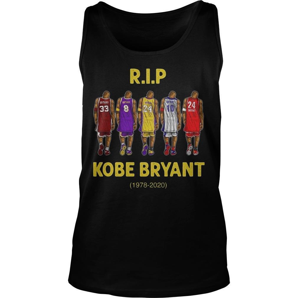 Rip Kobe Bryant 1978 2020 Tank Top