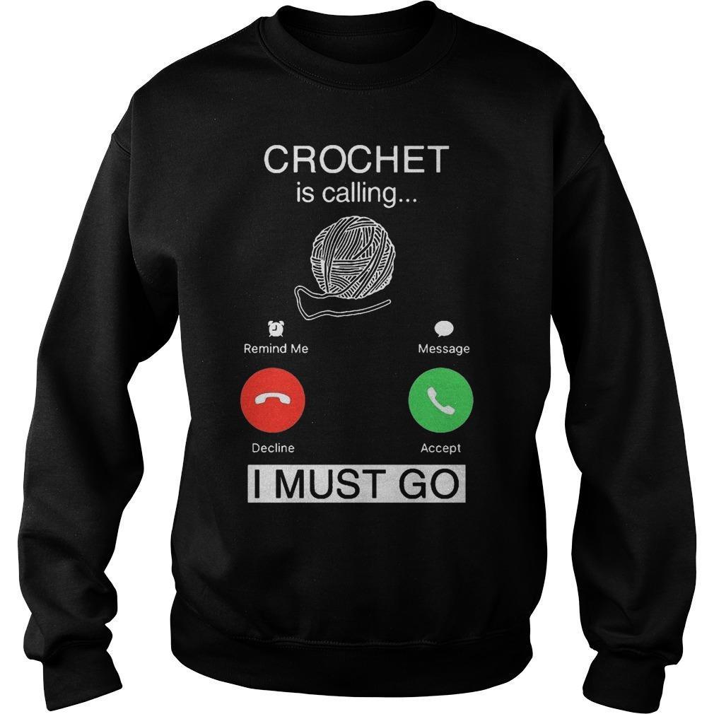Crochet Is Calling I Must Go Sweater