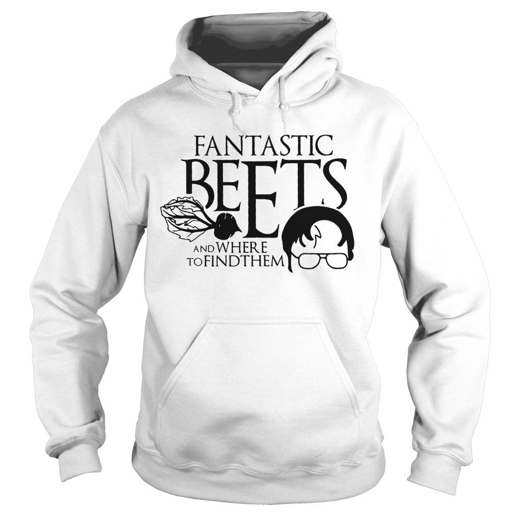 Michael Scott Dwight Fantastic Beets And Where To Find Them Hoodie