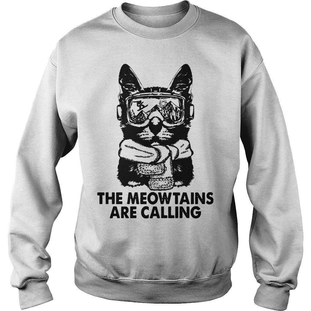 The Meowtains Are Calling Sweater