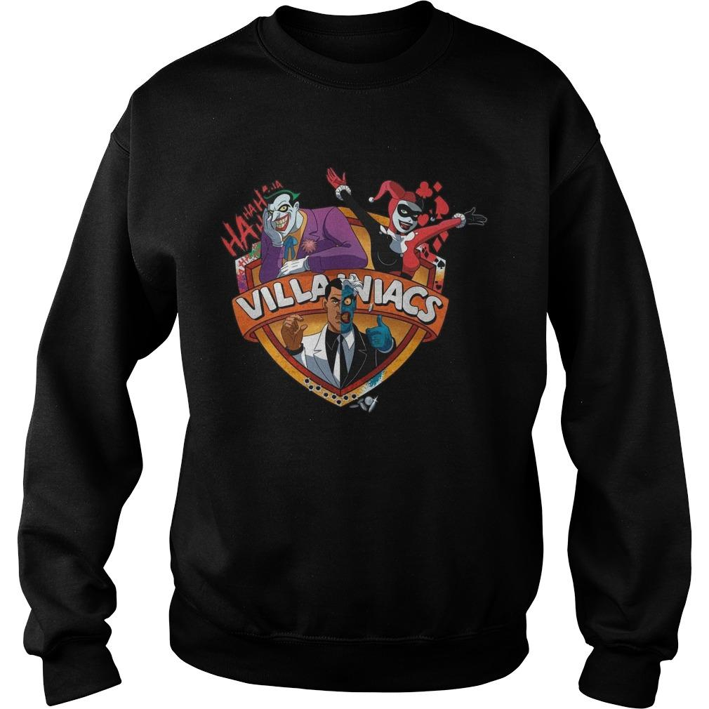 Batman Villain Villainiacs Sweater