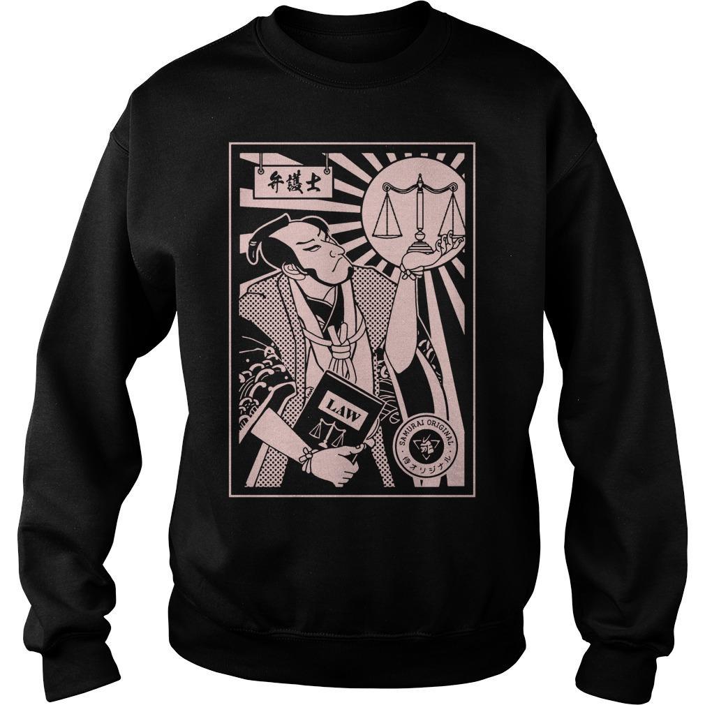 Lawyer Samurai Sweater
