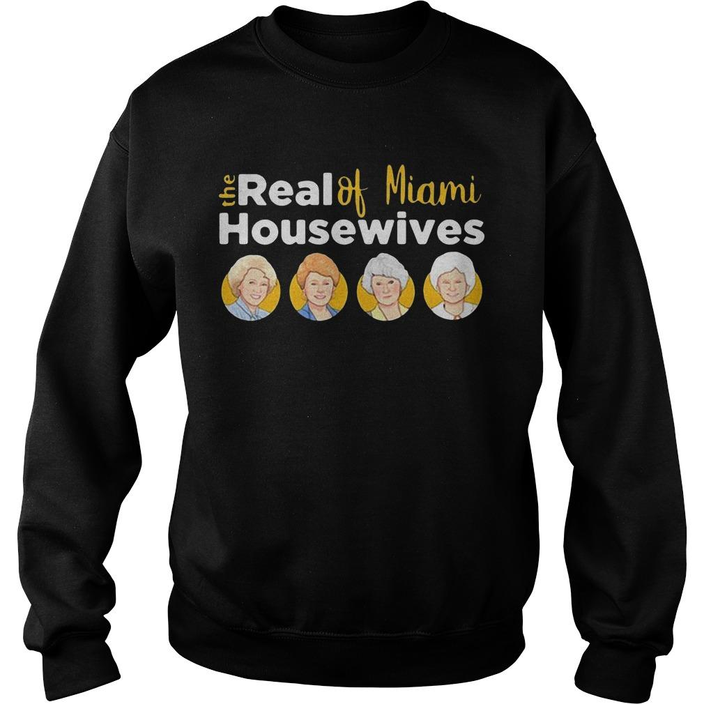 The Golden Girls The Real Of Miami Housewives Sweater