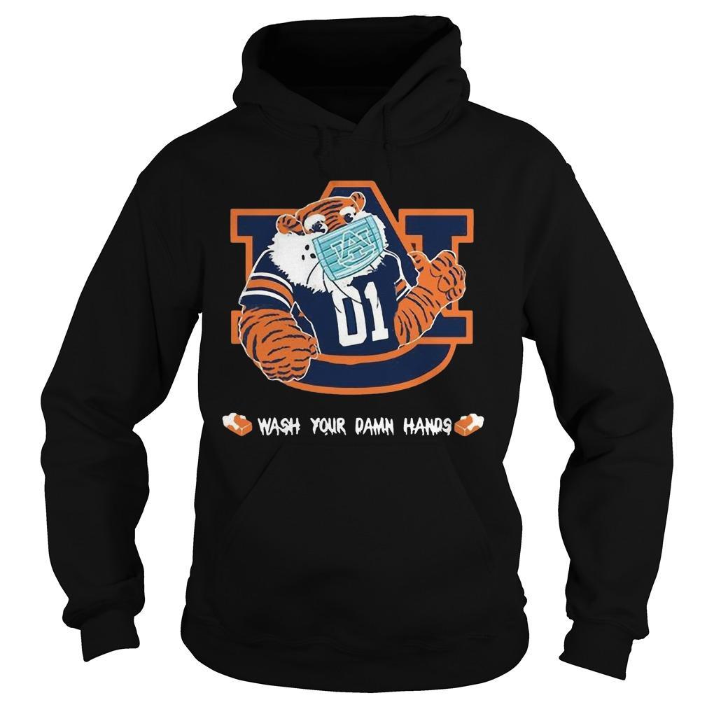 Auburn Tigers Wash Your Damn Hands Hoodie