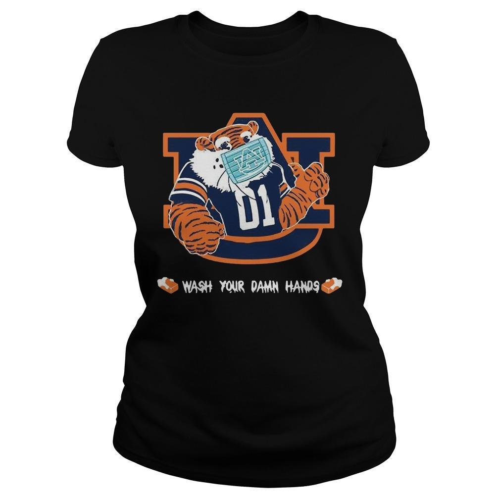 Auburn Tigers Wash Your Damn Hands Longsleeve