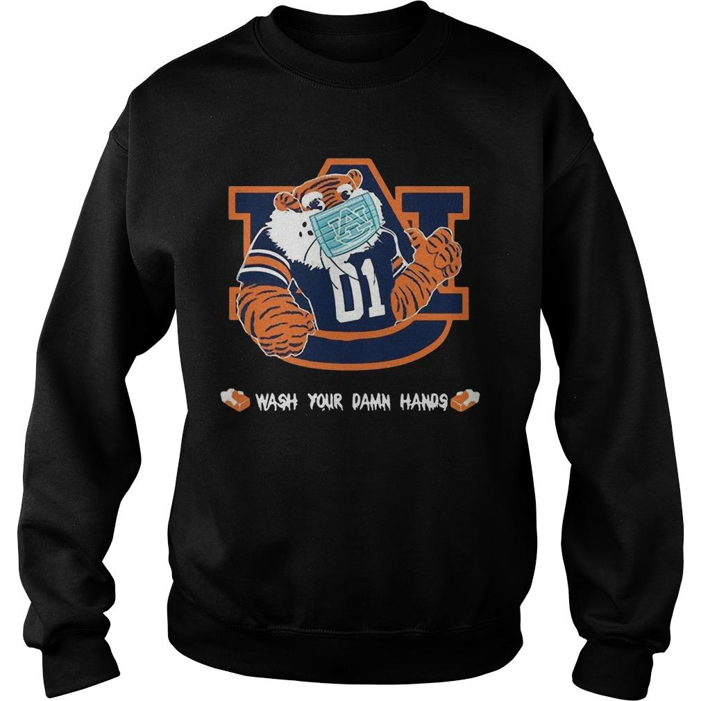 Auburn Tigers Wash Your Damn Hands Sweater