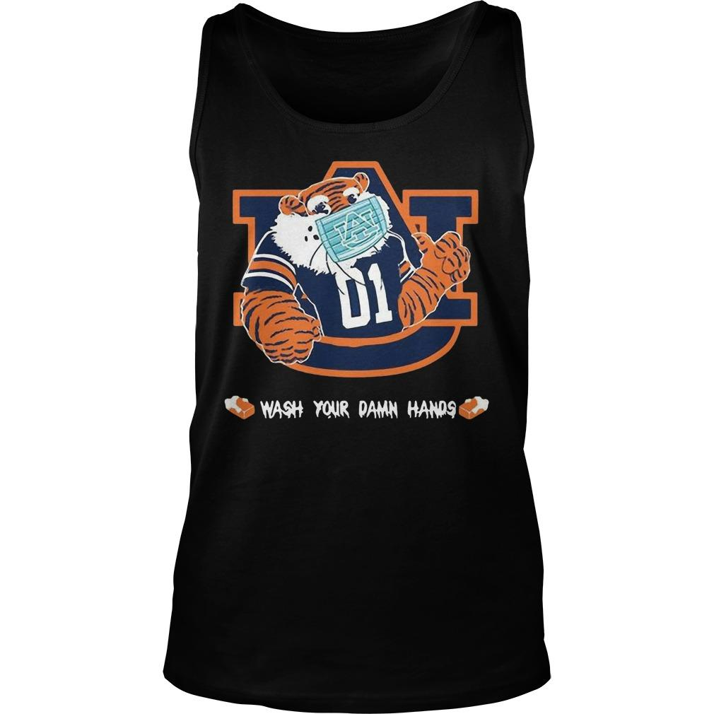 Auburn Tigers Wash Your Damn Hands Tank Top
