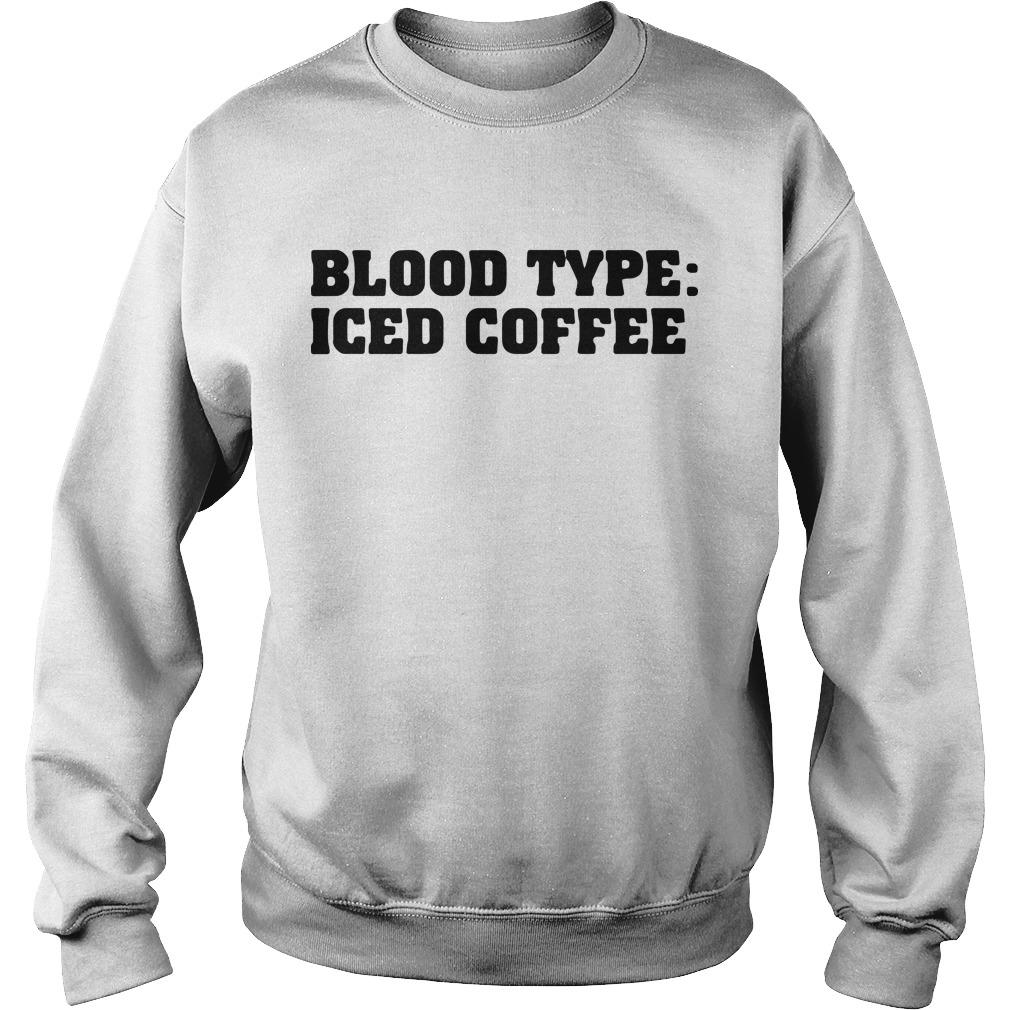 Blood Type Iced Coffee Sweater