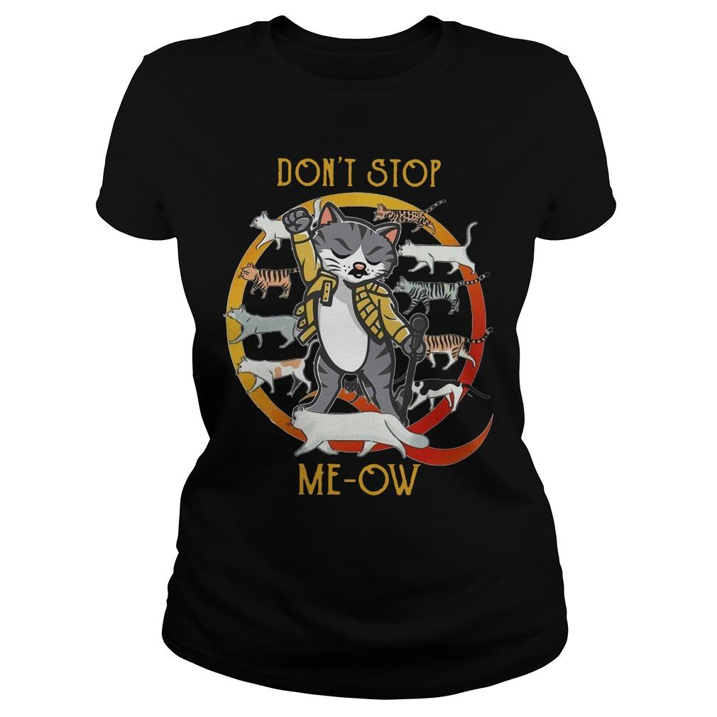 Don't Stop Meow Longsleeve