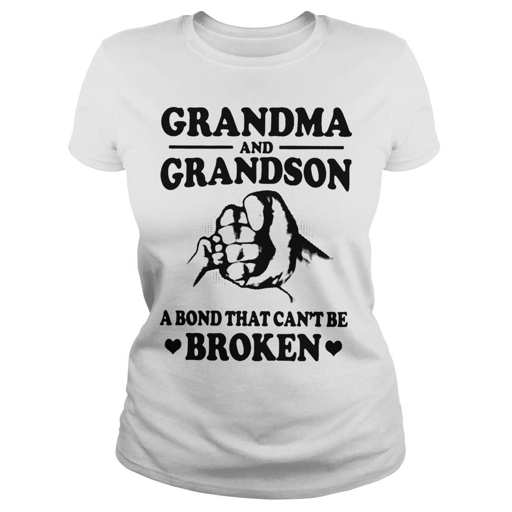 Grandma And Grandson A Bond That Can't Be Broken Longsleeve
