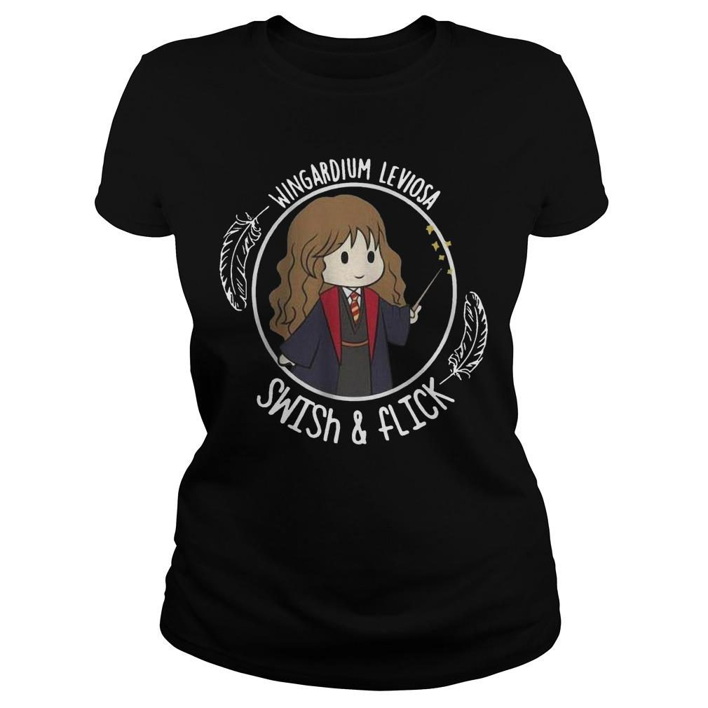 Hermione Wingardium Leviosa Swish And Flick Longsleeve