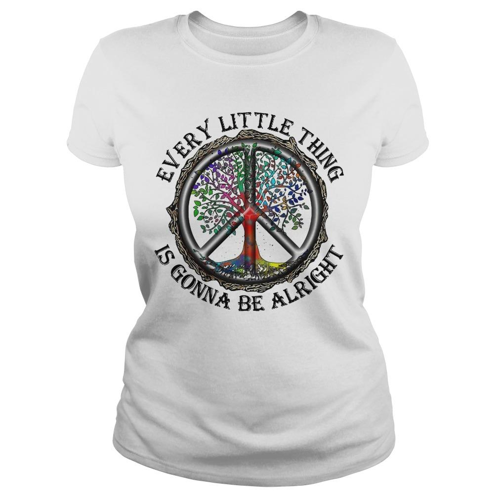 Hippie Every Little Thing Is Gonna Be Alright Longsleeve