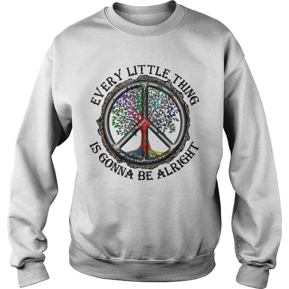 Hippie Every Little Thing Is Gonna Be Alright Sweater