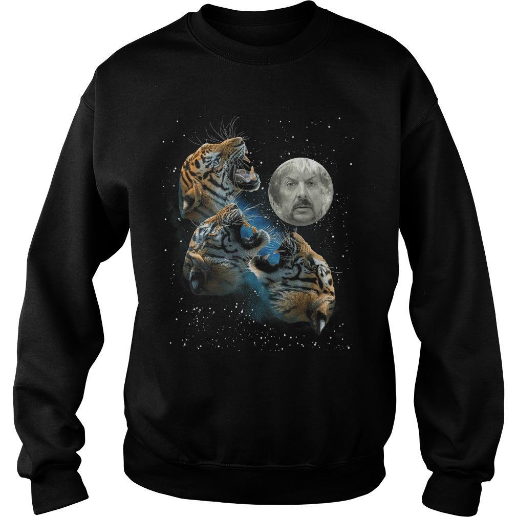 Joe Exotic Three Tiger Moon Sweater