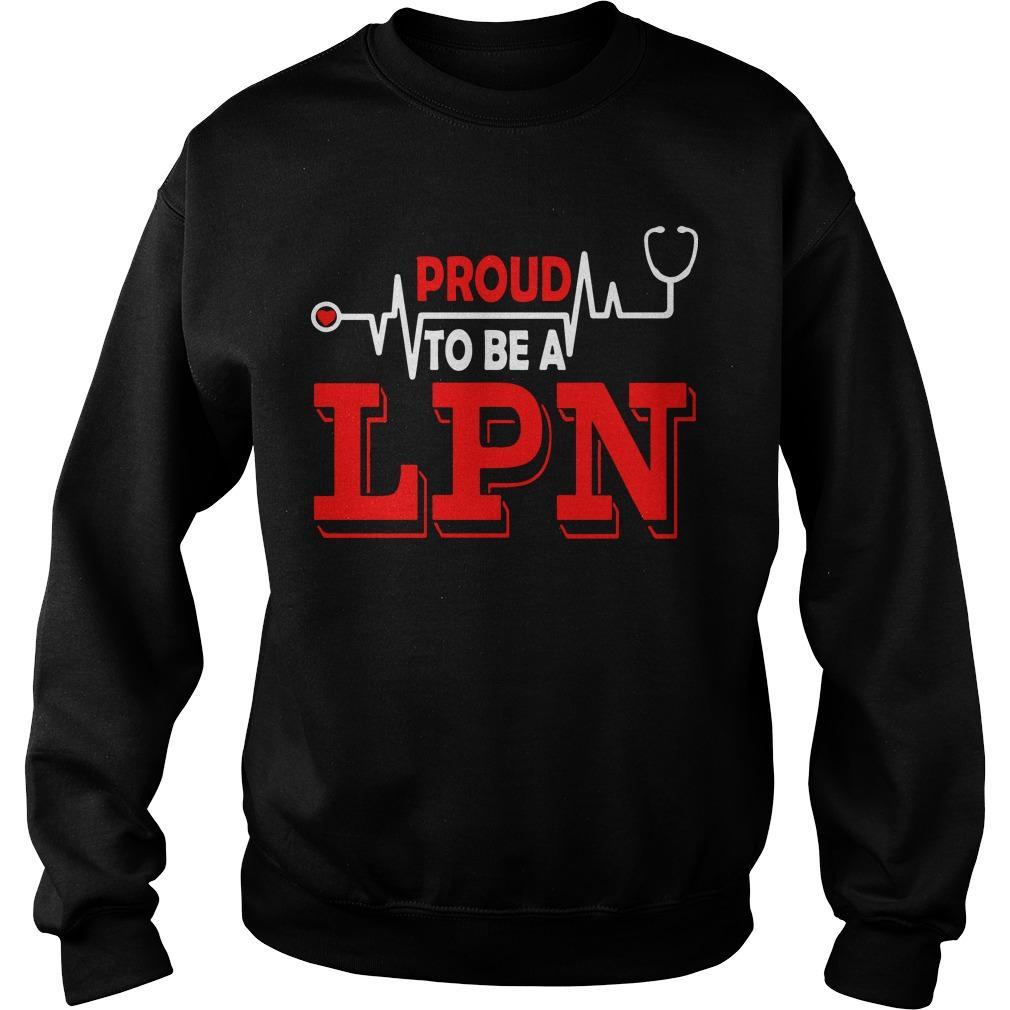 Lpn Lit Proud Nurse Sweater