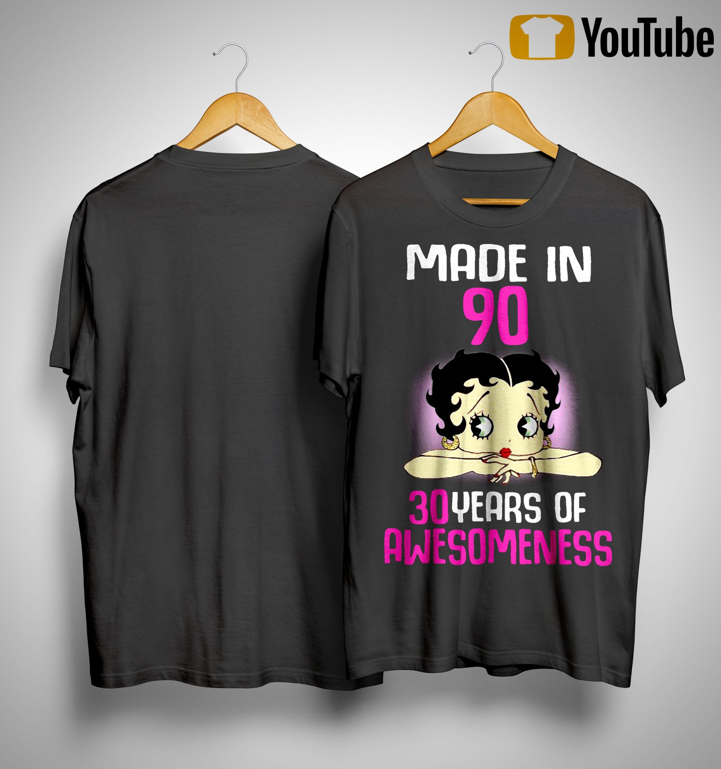Made In 90 30 Years Of Awesomeness Shirt