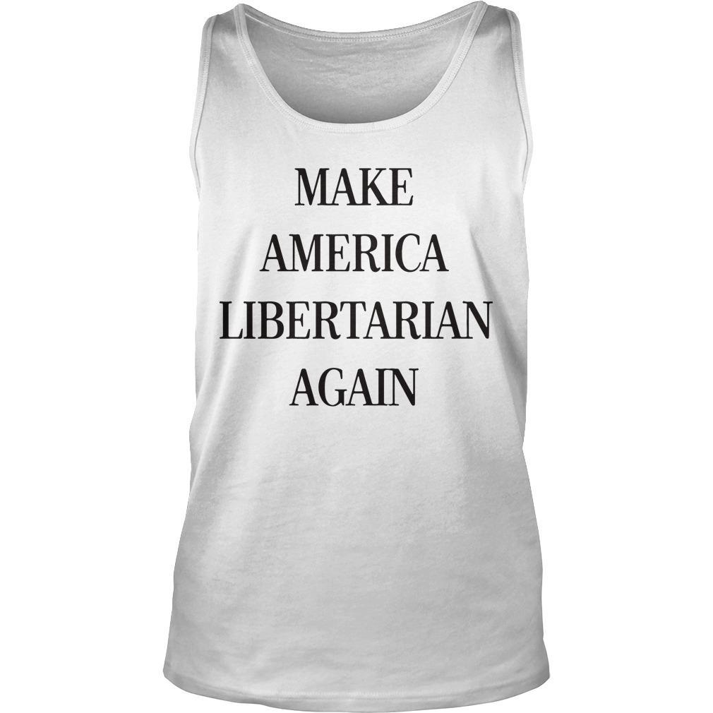 Make America Libertarian Again Tank Top