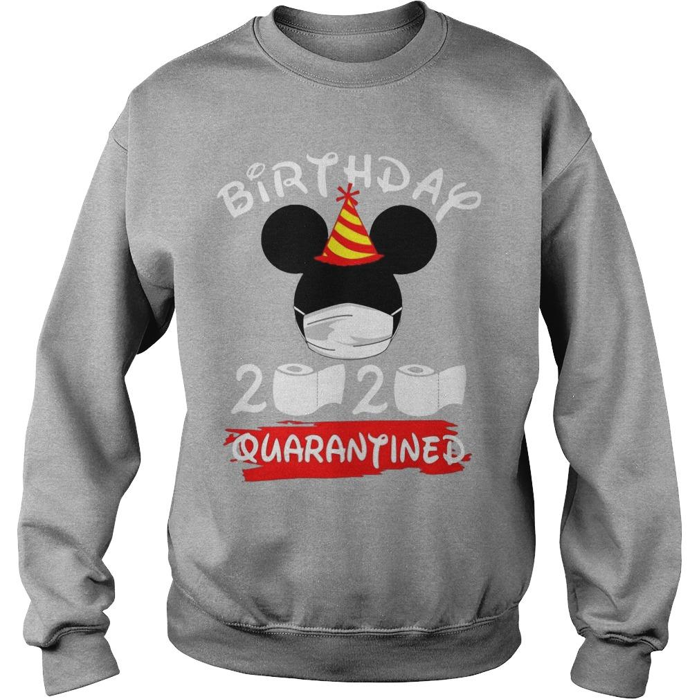 Mickey Mask Birthday 2020 Quarantined Sweater