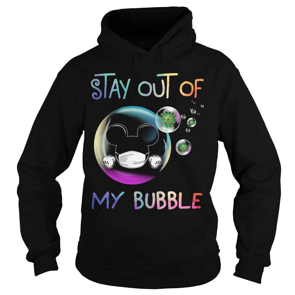 Mickey Stay Out Of My Bubble Hoodie