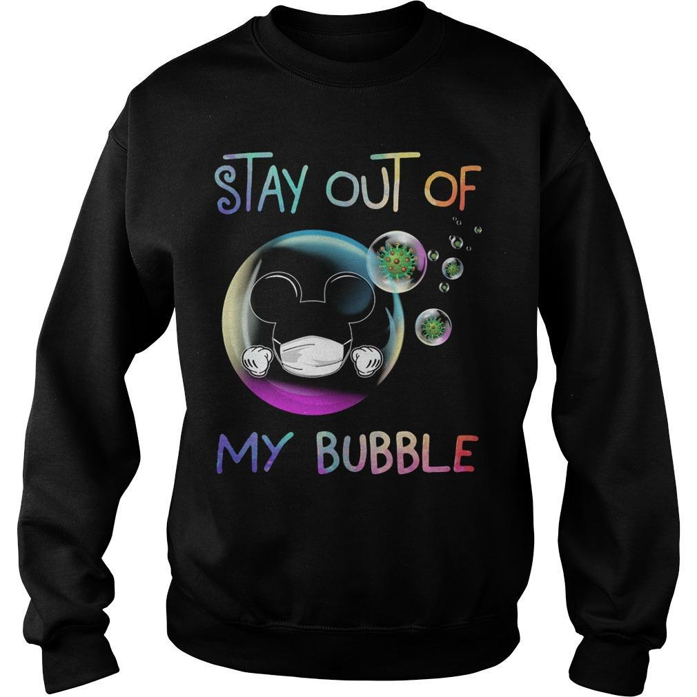 Mickey Stay Out Of My Bubble Sweater