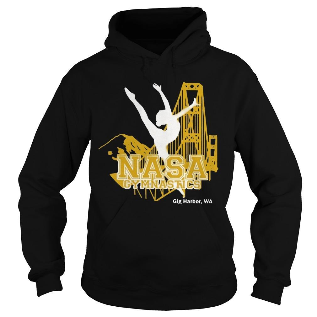 Nasa Gymnastics Gig Harbor Hoodie