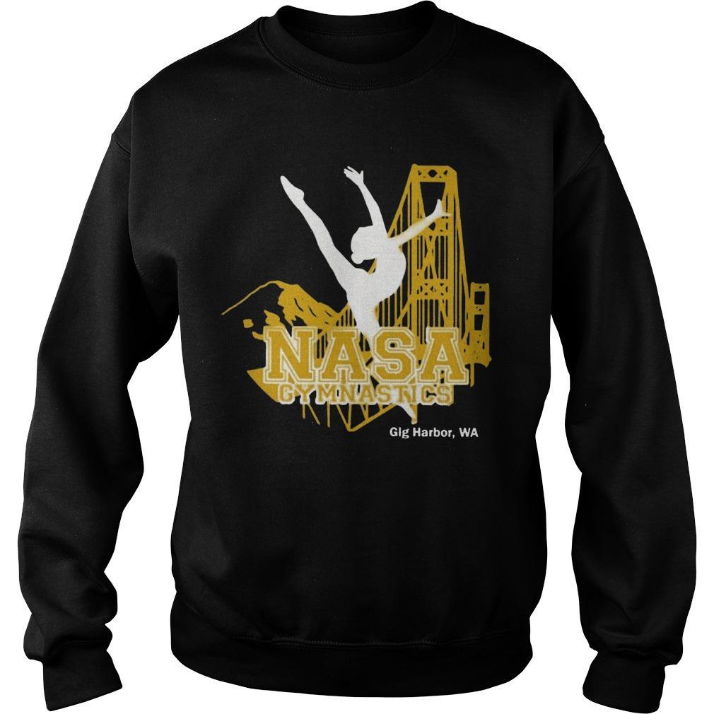 Nasa Gymnastics Gig Harbor Sweater