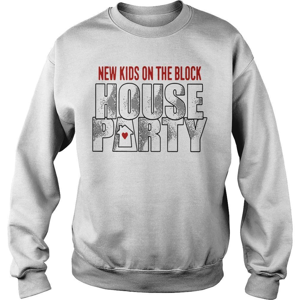 New Kids On The Block House Party Sweater