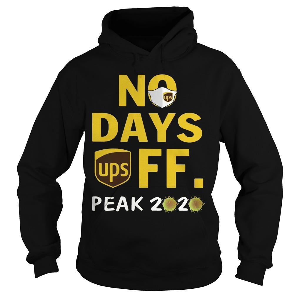 No Day Off Peak 2020 Ups Hoodie