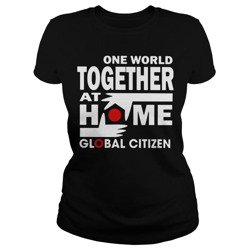 One World Together At Home T Longsleeve