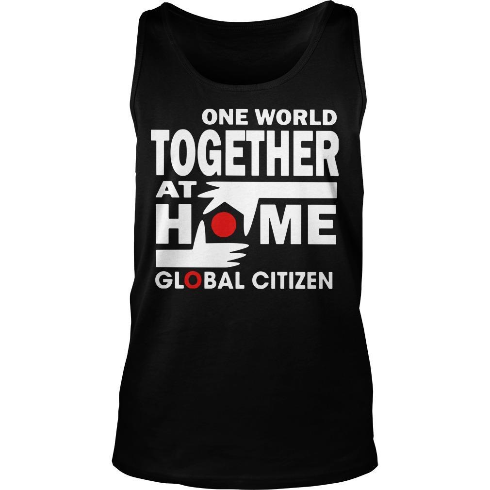 One World Together At Home T Tank Top