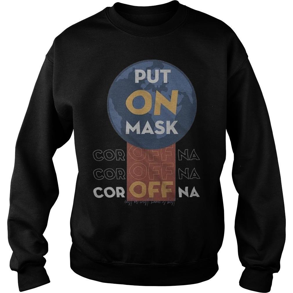 Put On Mask Coroffna Sweater