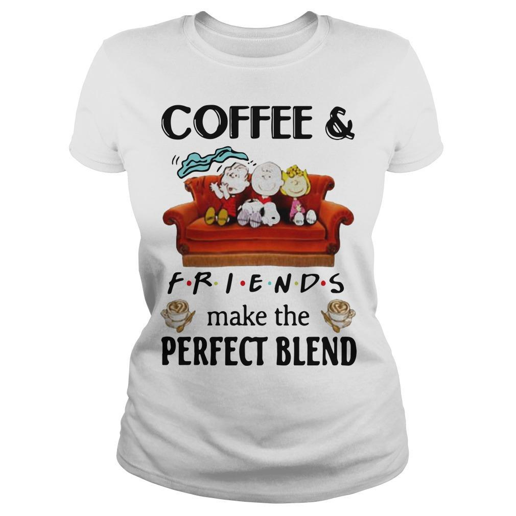 Snoopy Coffee And Friends Make The Perfect Blend Longsleeve