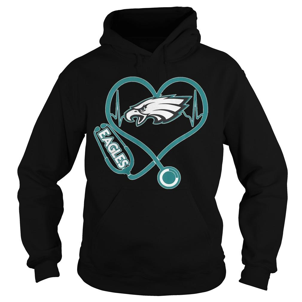 Stethoscope Eagles Hoodie