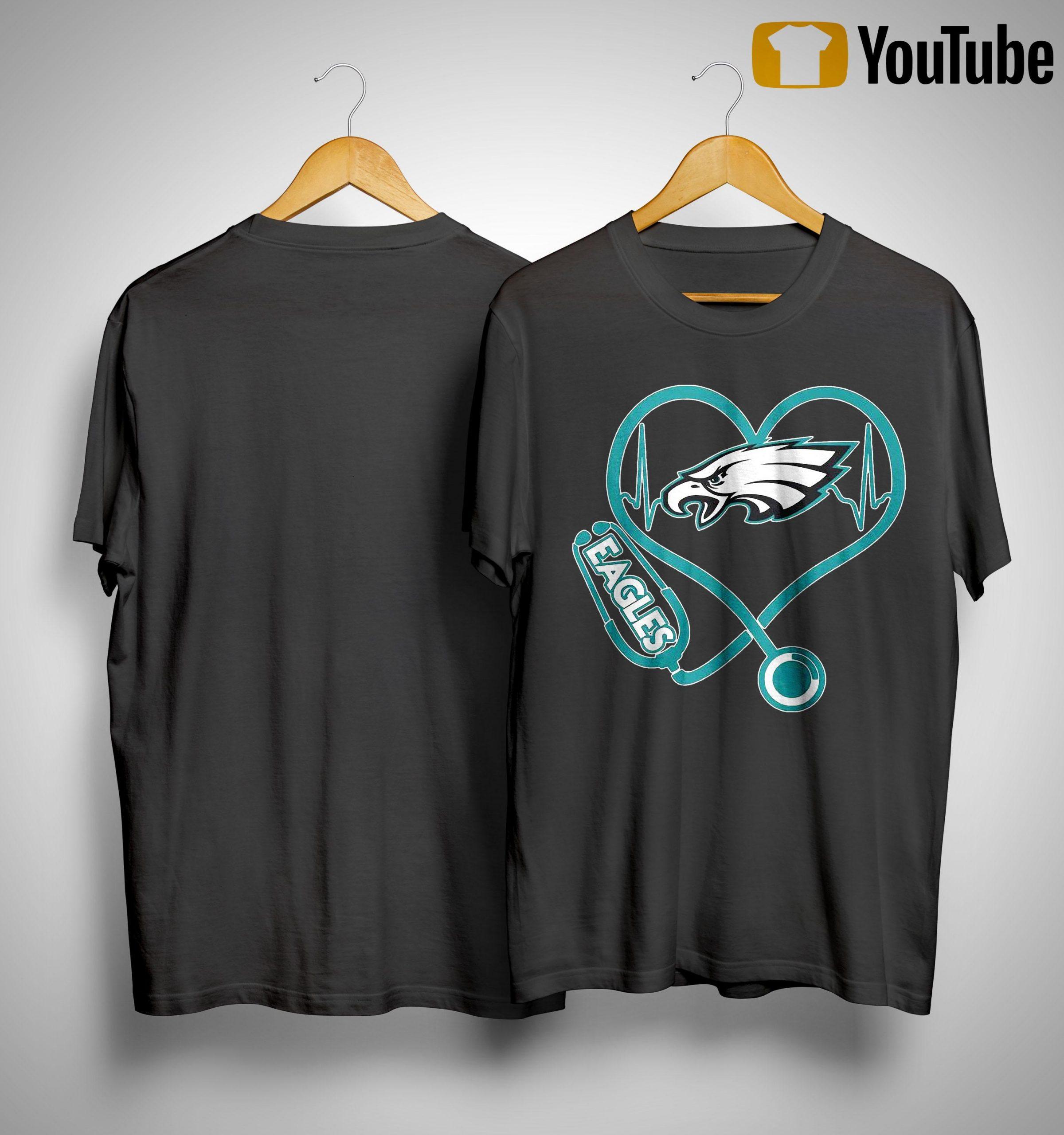 Stethoscope Eagles Shirt