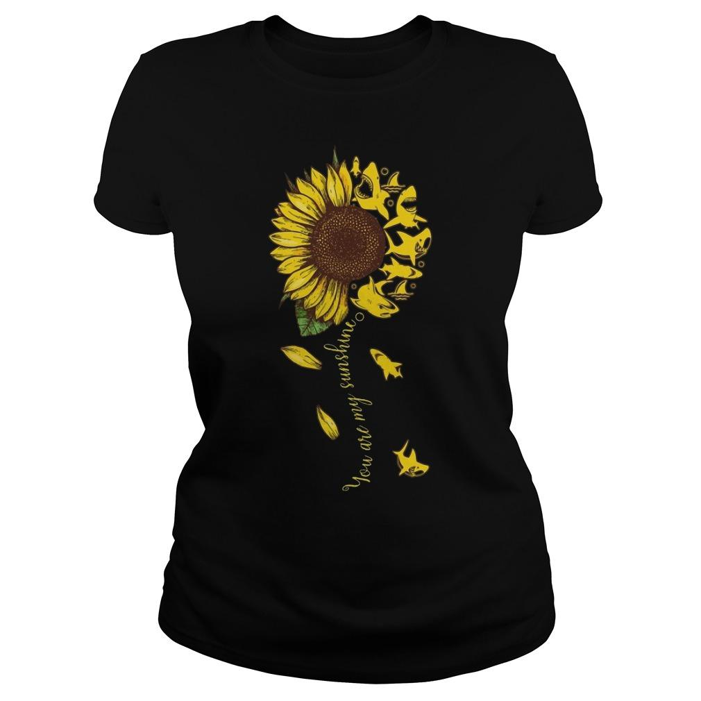 Sunflower Shark You Are My Sunshine Longsleeve